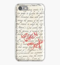 Include Women in the Sequel iPhone Case/Skin