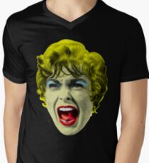 Psycho (1960 film) by Alfred Hitchcock Men's V-Neck T-Shirt