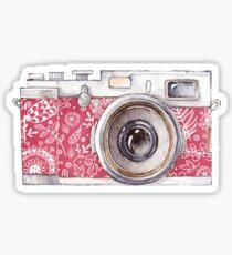 Vintage Pink Camera #trending Sticker