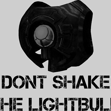 Don't shake the lightbulb. by xIMasterDarkIx