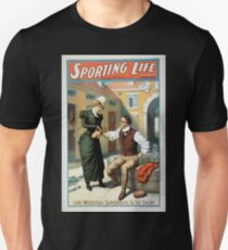 Performing Arts Posters Sporting life written by Cecil Raleigh Seymour Hicks 1010 T-Shirt