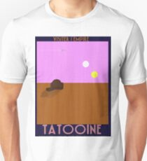 Star Wars - Visit Tatooine - 1930s poster style T-Shirt