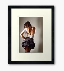Colour me your colour Framed Print
