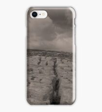 The unique landscape of the Burren iPhone Case/Skin