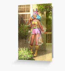 Summer rain Greeting Card