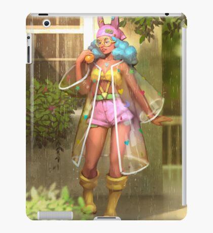 Summer rain iPad Case/Skin