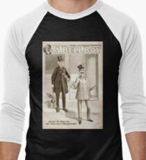 Performing Arts Posters Will F Phillips complicated farcical extravaganza A bell boy 1030 Men's Baseball ¾ T-Shirt