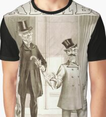 Performing Arts Posters Will F Phillips complicated farcical extravaganza A bell boy 1030 Graphic T-Shirt