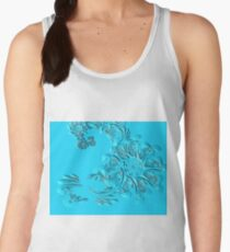 abstract color Women's Tank Top
