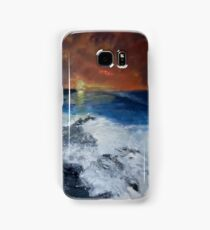 Pembrokeshire Sunset Samsung Galaxy Case/Skin