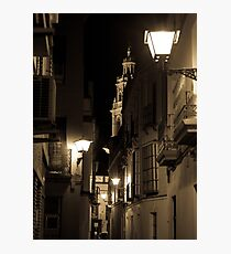 Night in Seville  Photographic Print