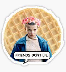 ELEVEN STRANGER THINGS  Sticker