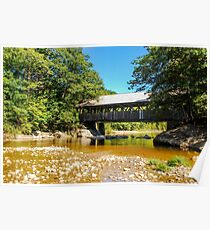 Artists'  Covered Bridge Poster