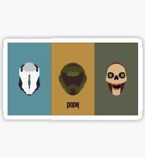 Doom 2016 #5 Sticker