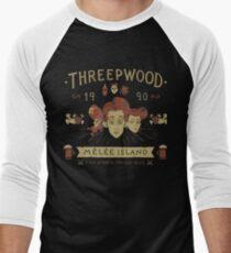 Pirates Time Men's Baseball ¾ T-Shirt
