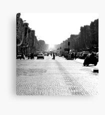 Avenue des Champs-Elysées  Canvas Print