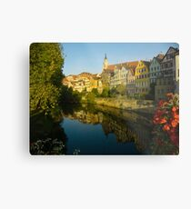 Postcard from Tübingen, Germany Metal Print