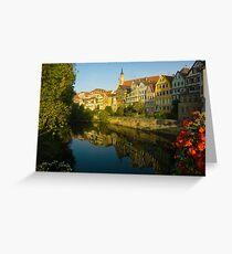 Postcard from Tübingen, Germany Greeting Card