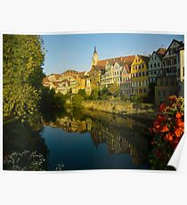 Postcard from Tübingen, Germany Poster