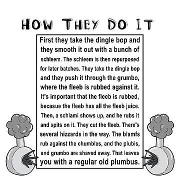 How do they do it? by Merwok