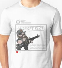 Airsoft Fact 5 Unisex T-Shirt