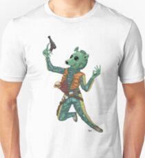 Alien vs. Greedo colored UNofficial Unisex T-Shirt