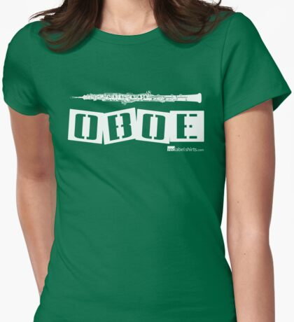 Label Me An Oboe (White Lettering) T-Shirt