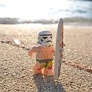 Surfing Stormtrooper by minifignick
