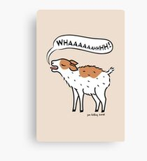 Yelling Kid Goat Canvas Print