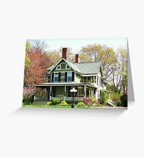 Great Great Grandpa's House ~ Lewiston, NY Greeting Card