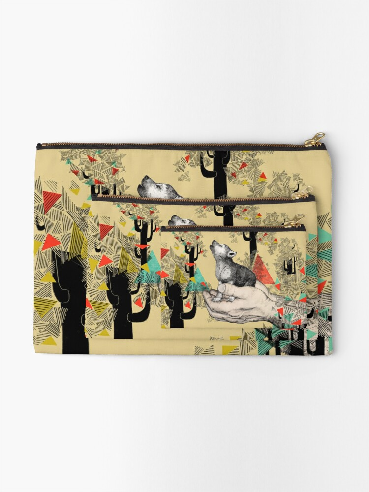 Alternate view of FOUND YOU THERE Zipper Pouch