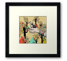 FOUND YOU THERE Framed Print