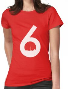The 6ix Toronto Design Womens Fitted T-Shirt