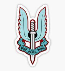 Special Air Service (Blue - No Background)  Sticker