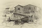 Peggy's Cove - sepia by PhotosByHealy