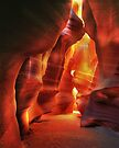 Wall of Fire,  Antelope Canyon, Arizona by Daniel H Chui