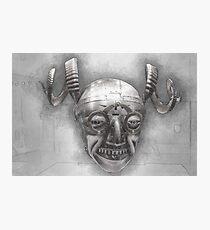 Henry VIII's horned helmet Photographic Print