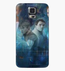 Caleb Hass & Will Olsen- Galaxy Design  Case/Skin for Samsung Galaxy