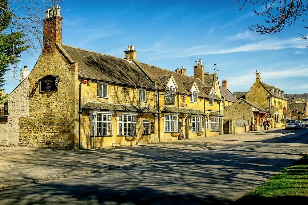 Broadway Village, Worcestershire by StephenRphoto