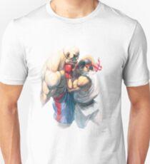 Street Fighter #1 - Sagat vs Ryu Unisex T-Shirt