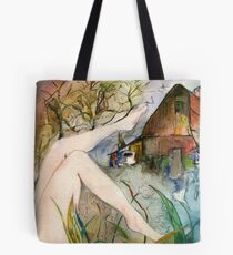 Out By The Barn Tote Bag