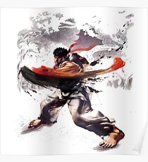 Street Fighter #2 - Ryu Poster