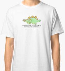 Firefly Wash's stegosaurus quote. Classic T-Shirt