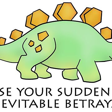 Firefly Wash's stegosaurus quote. by Copperoxide