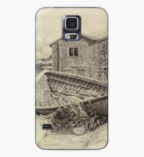 Peggy's Cove - sepia Case/Skin for Samsung Galaxy