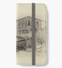 Peggy's Cove - sepia iPhone Wallet/Case/Skin