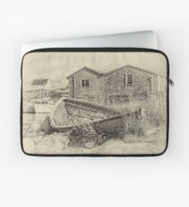 Peggy's Cove - sepia Laptop Sleeve