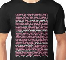 TEEN IDLE LYRICS Unisex T-Shirt