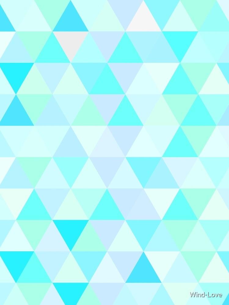 Triangular Blue by Wind-Love