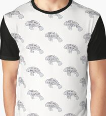 Save the Manatees Graphic T-Shirt